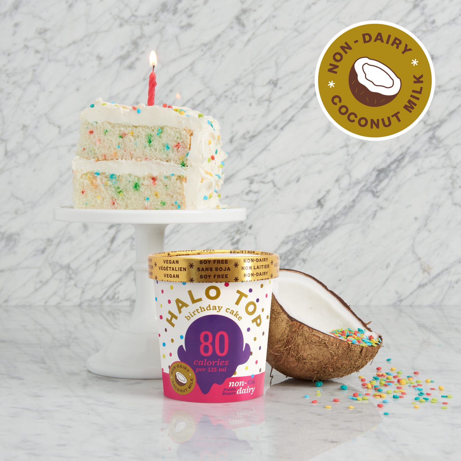Cool Halo Top Canada On Twitter Now You Can Have Your Cake And Eat It Funny Birthday Cards Online Alyptdamsfinfo