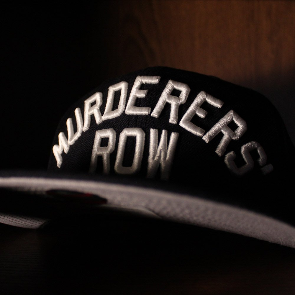 a812f08619cfd ... http   www.ecapcity.com murderers-row-new-york-yankees-new-era-59fifty- fitted-hat-navy-gray-under-brim.html …  MURDERERSROW  NewYorkYankees   Yankees ...