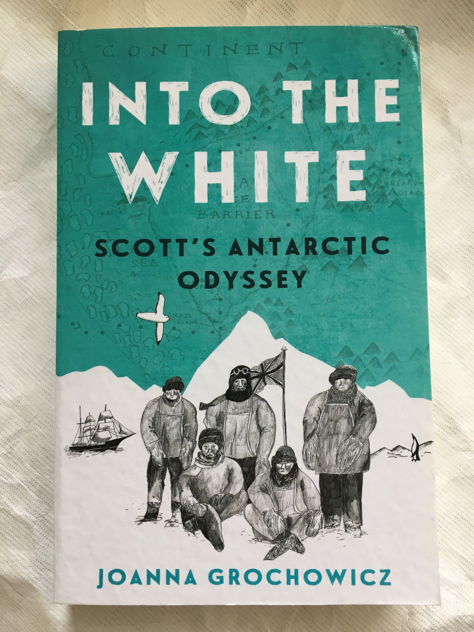 image of book titled, Into the White