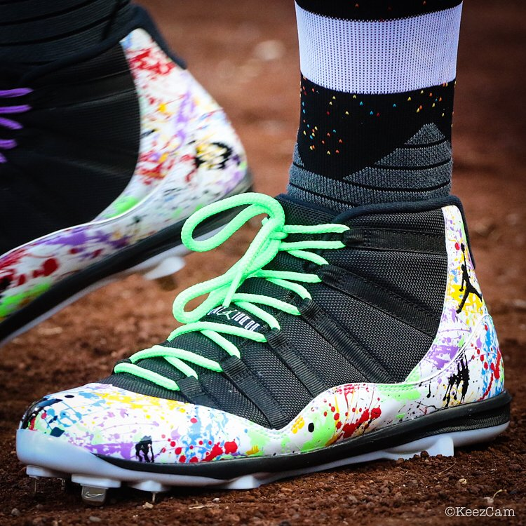 9ef45cf44 MLB Players Weekend Cleats | Bleacher Report | Latest News, Videos and  Highlights