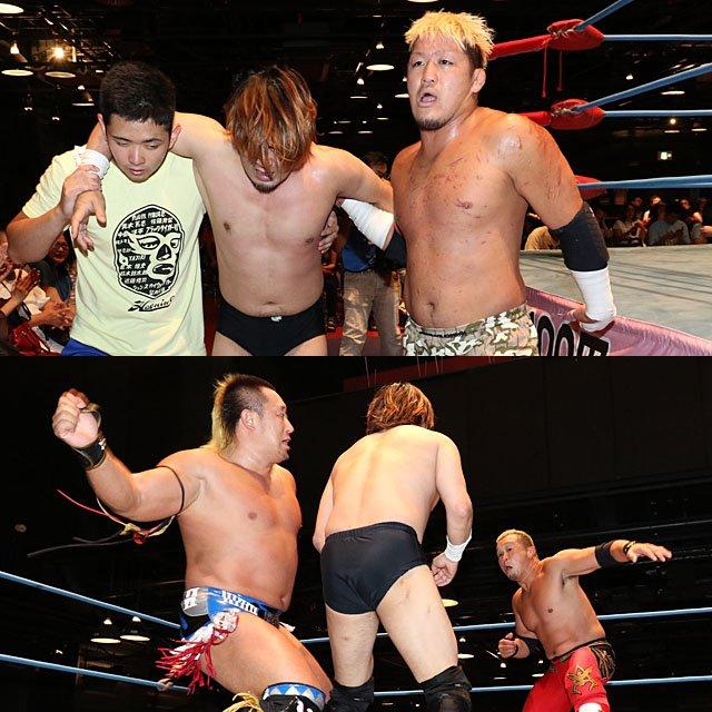 "AJPW:""Jr. Tag Battle of Glory"" Koji Iwamoto y TAJIRI, los ganadores 3"