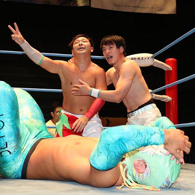 "AJPW:""Jr. Tag Battle of Glory"" Koji Iwamoto y TAJIRI, los ganadores 2"
