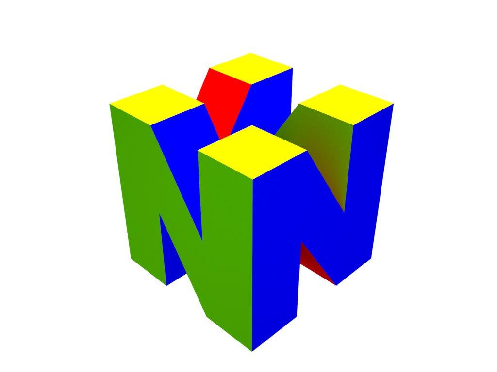 n64 logo hd wallpaper - HD1024×768