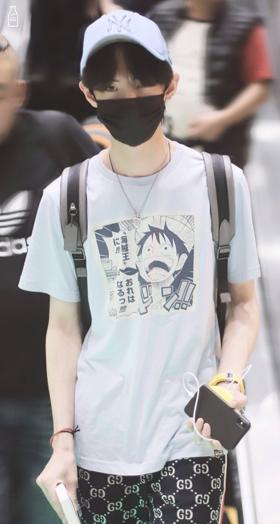 b7796dc36 Xinchun keeps pairing his anime shirts w/ gucci sweatpants. We love a boujee  weeb.pic.twitter.com/yrKsanpiGp