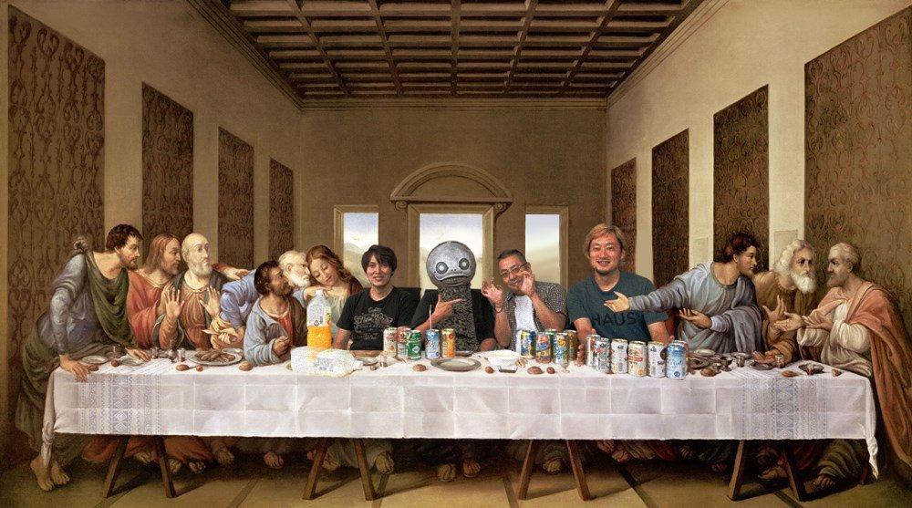 вот тайная вечеря пустой стол фото нельзя
