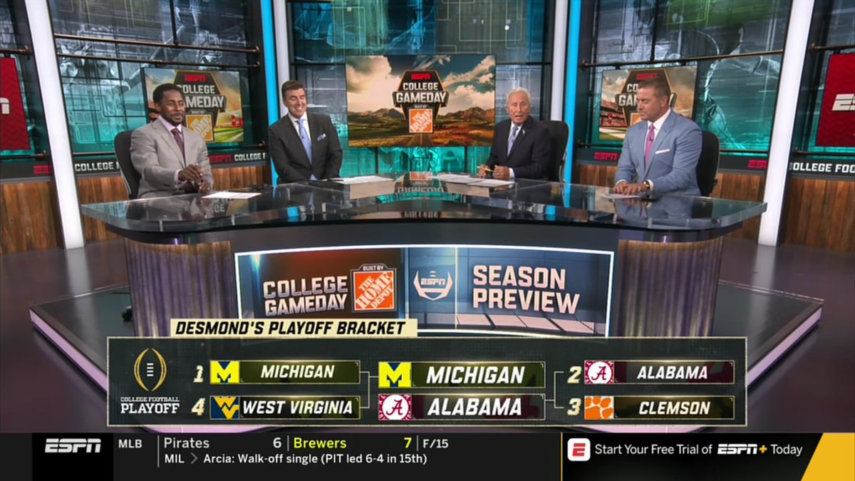 ESPN's Desmond Howard Is Getting Mocked For His National Title Pick