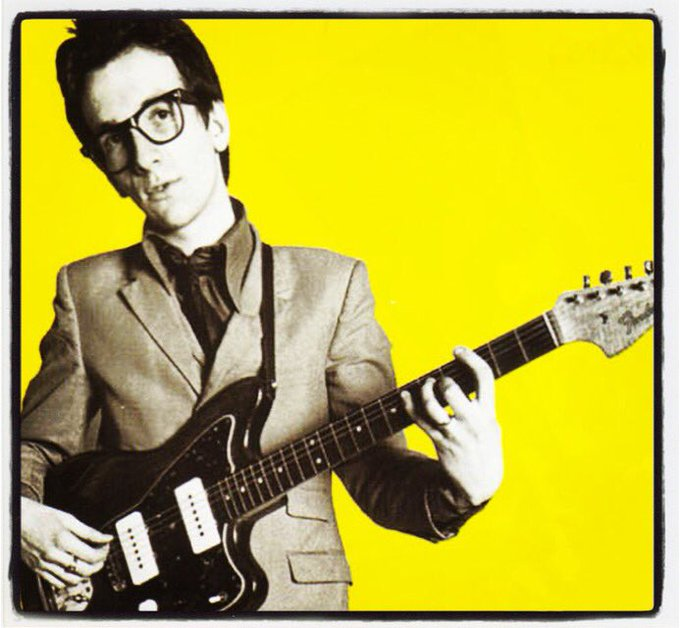 Happy birthday, Elvis Costello!
