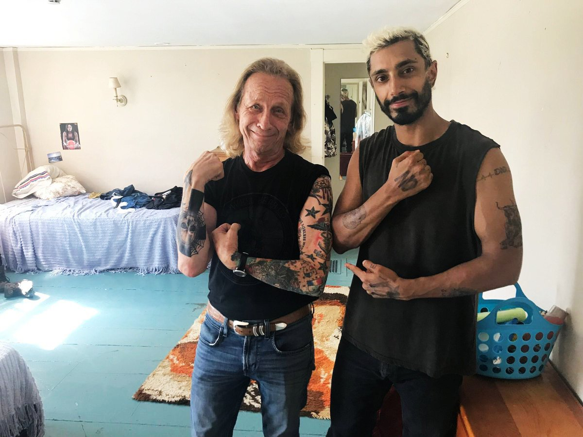 """Daily Riz Ahmed on Twitter: """"Riz Ahmed behind the scenes of The Sound of  Metal.… """""""