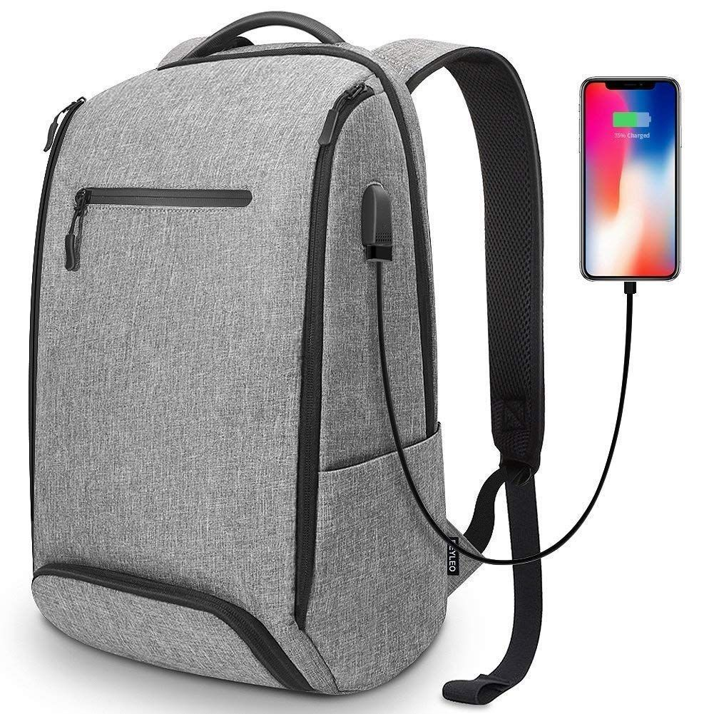9f664db03c93 Laptop backpack with Charging Port for  14.81! Use promo code  B7DZZV7H  https   amzn.to 2LmZdF6 pic.twitter.com DSCvAwMEPY