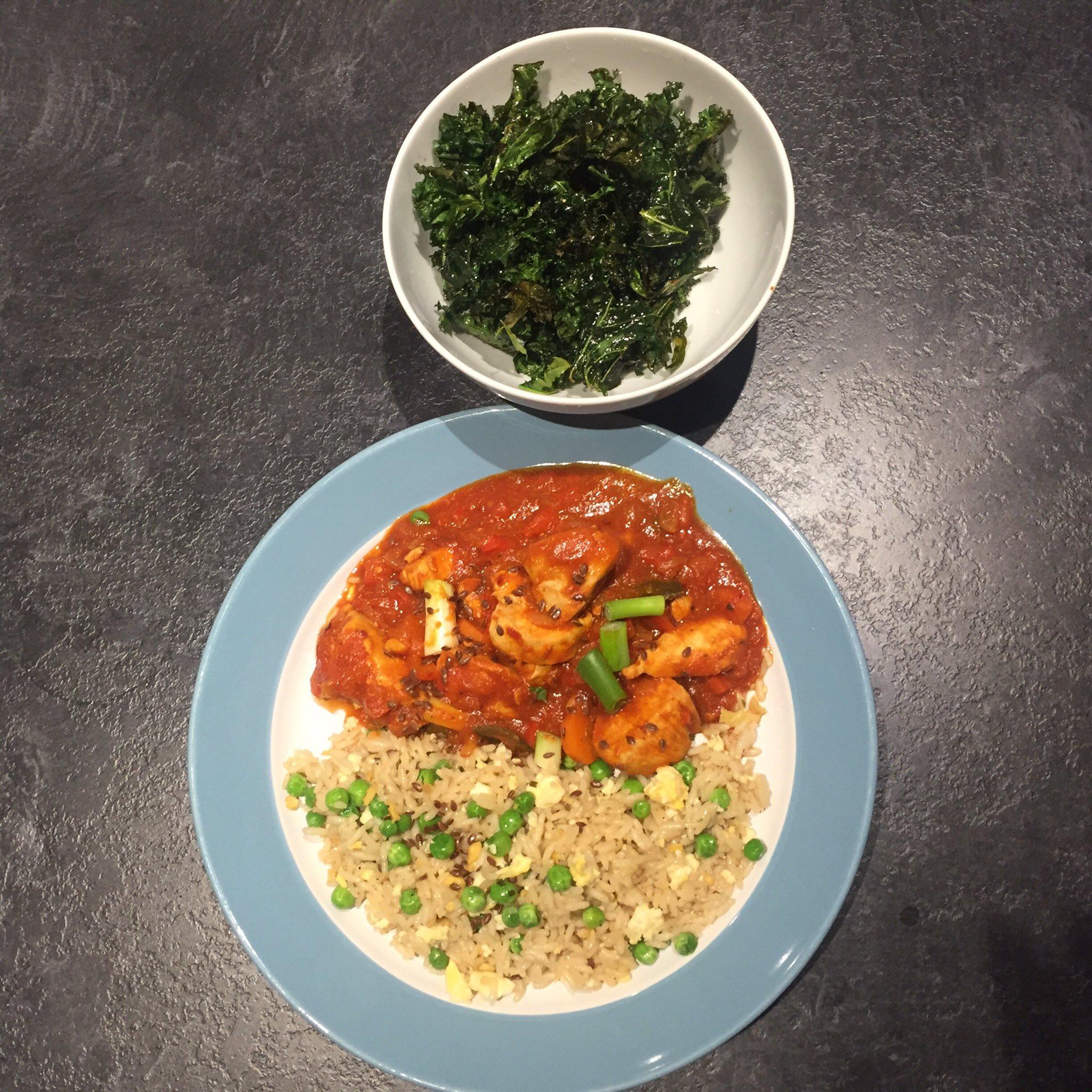 "Chartwells UK on Twitter: ""Bang Bang Chicken 💣 💥 Served ..."