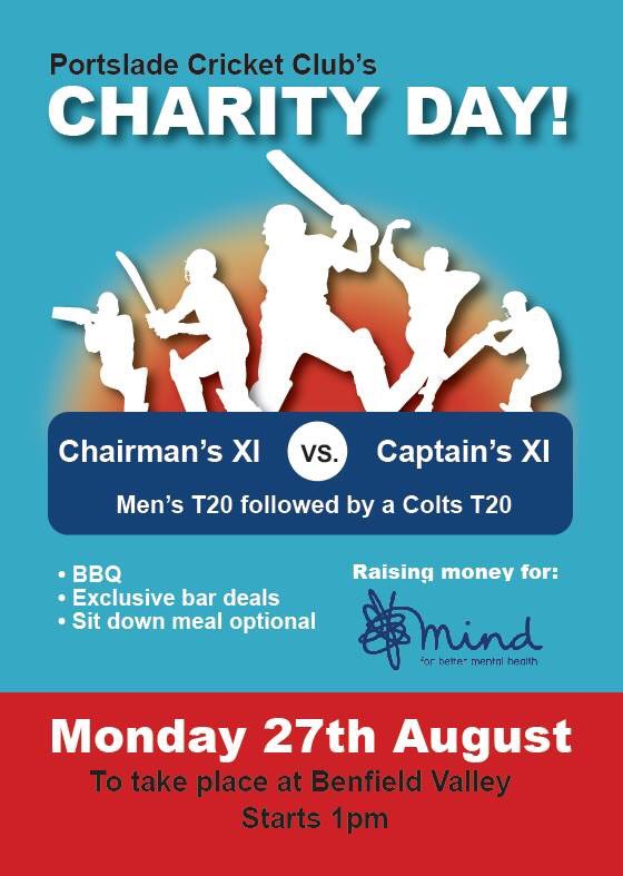 Attention now turns to Monday for our @MindCharity day. Any support from local clubs would be massive appreciated and RT's to spread the word would be great. #cricketfamily