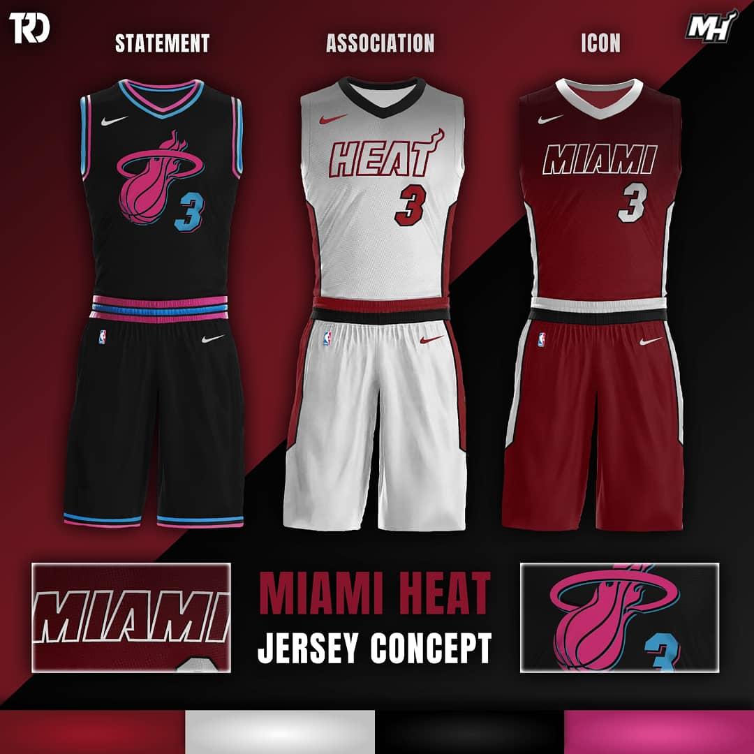 new style 65790 30a45 promo code miami heat jersey design 072e8 83b3b