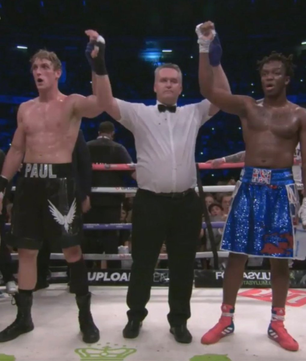 Logan Paul vs KSI YouTuber Boxing Match Ended Up in a Majority Draw Decision
