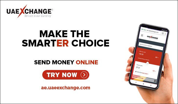 Make the #smarterchoice with easy online money transfer at the best exchange rate and lowest transfer fees with @uaeexchange Click👇🏼 https://t.co/SVkOi9B2fX https://t.co/CNMa90e738