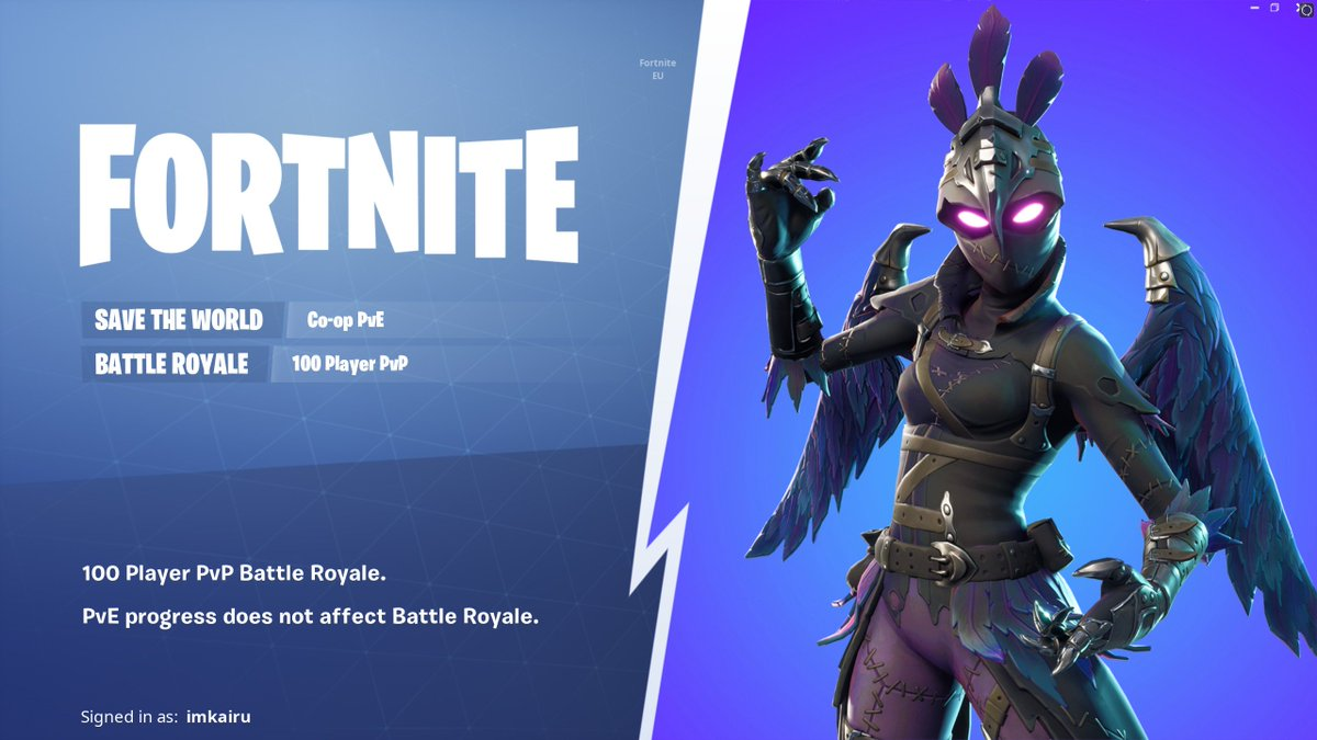 Fortnite News Fnbr News On Twitter The Mode Selection Screen Has