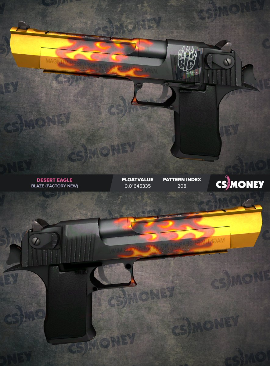 Desert Eagle | Blaze (Factory New) Giveaway! 🤑   Follow me ✅ Retweet this post ✅ Winner will be drawn in 7 days (2nd of September) 🤙  Good luck to everyone who participates 🥳
