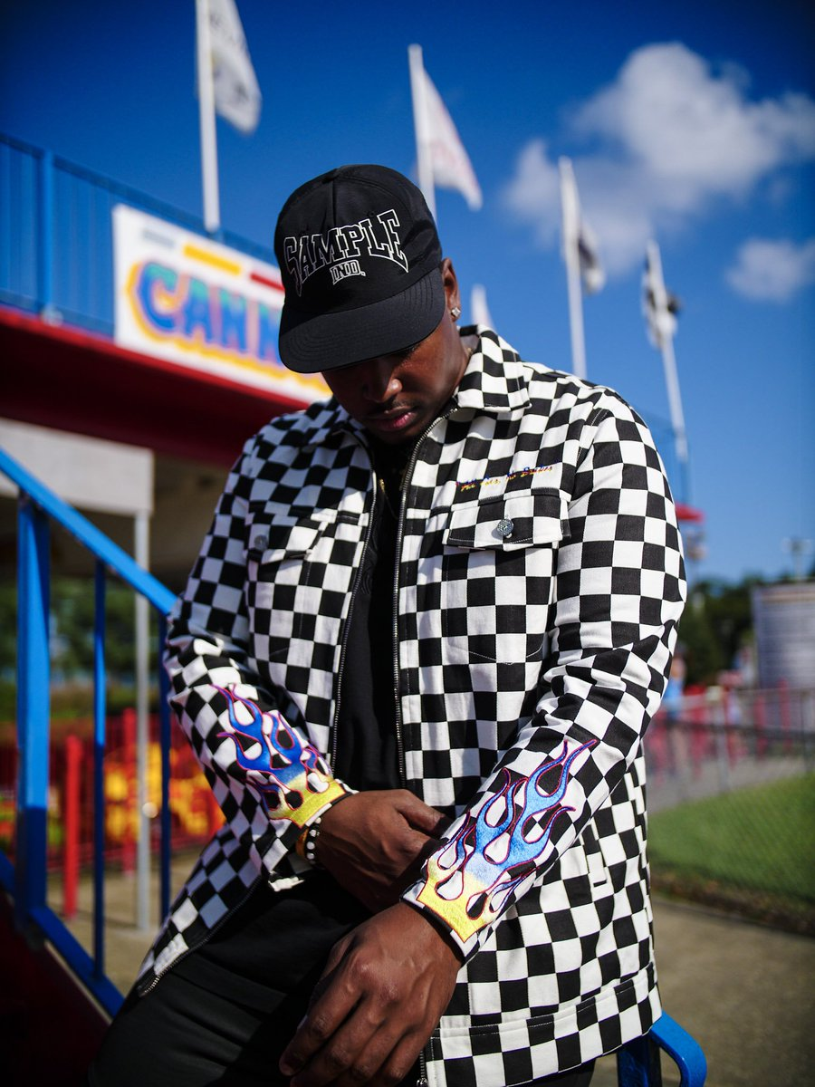 Sample Industries On Twitter CHECKERED JACKET AVAILABLE