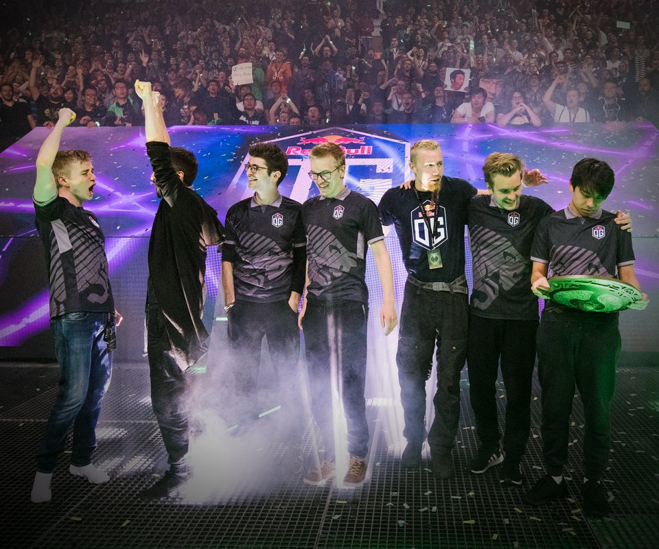 Dota 2 News: OG Are Your Champions Of The International
