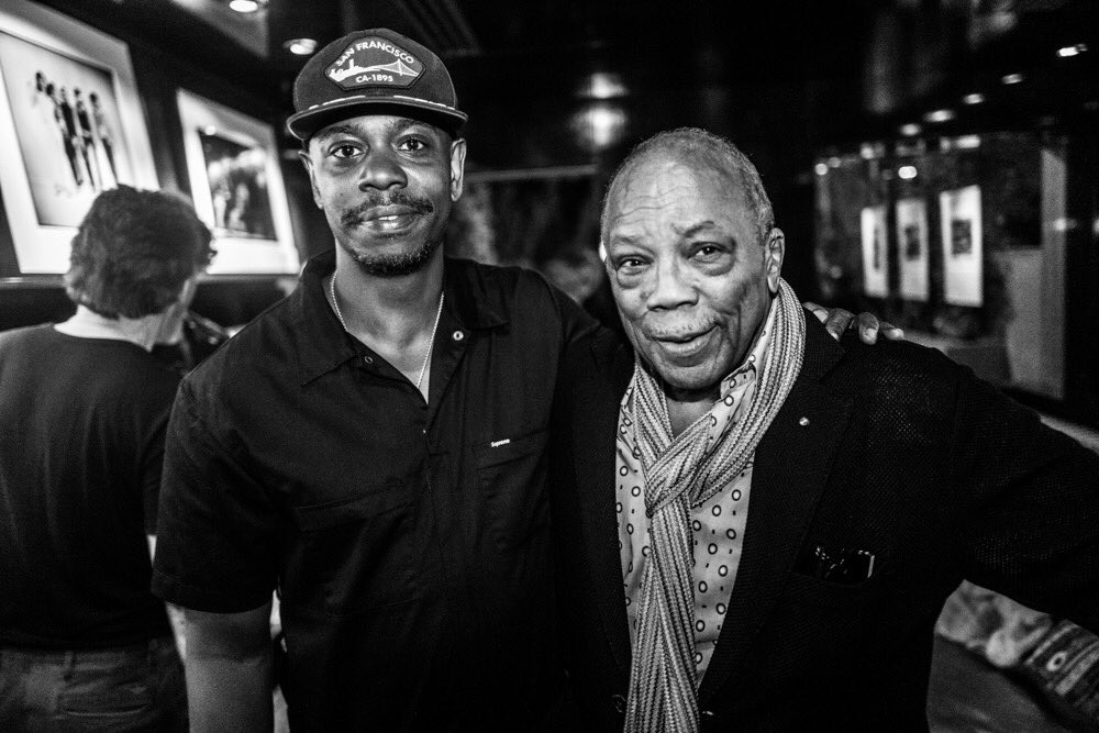 Happy belated bday to my brother from anotha motha @DaveChappelle!! Thank-Q for bringin' us all love & laughter...Keep on keepin' on & don't stop 'til you get enough! 📸: @candyTman