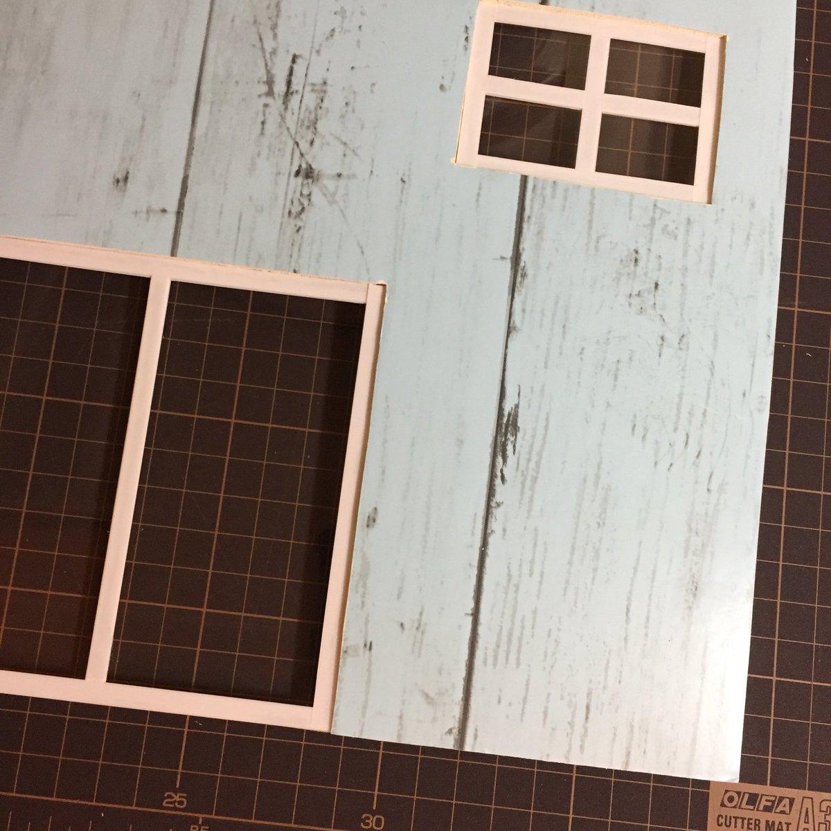 test ツイッターメディア - とりあえず反ってるままだけど どうにもならないので…?? プラ板で窓作って取付完了です 初めてにしては良しとす(笑) …って組立して大丈夫か?(^_^;) #手作り #DIY #ドールハウス #DAISO #カラーボード #塗装 #リメイクシート #プラ板 #窓 https://t.co/8LtZokrAmw