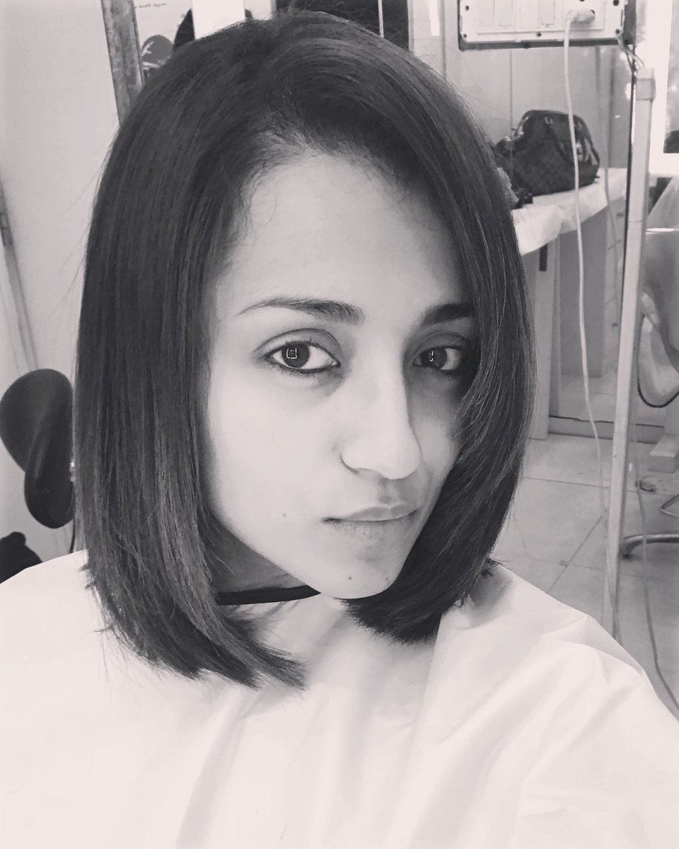 Trish On Twitter A Woman Who Cuts Her Hair Is About To