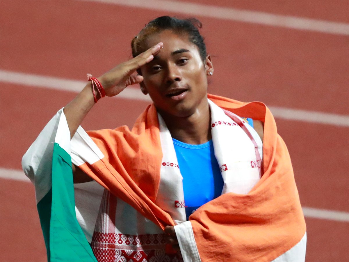 Asian2018 Asian Himadas8 Muhammed Anas Win 400m Silver Medals Read Https