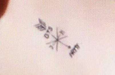 """ℓunie JIN DAY on Twitter: """"Jimin has a tattoo on his neck """"BTS ARMY"""" and on his hands the ..."""