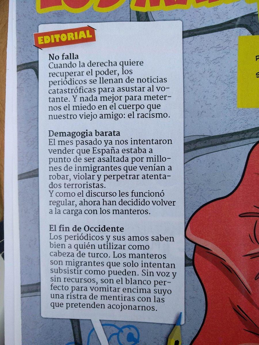 Magnífica Editorial de El Jueves @eljueves