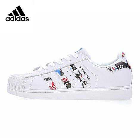 4b052eb8229c Genuine    Adidas Clover SUPERSTAR Men and Women Skateboarding Shoes