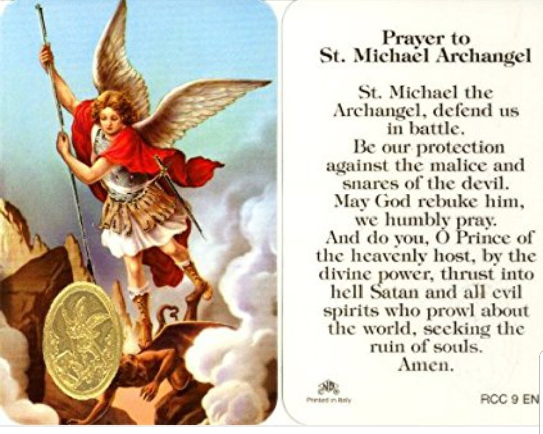 archangel michael prayer - 735×578