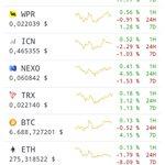 #TopCoin since last hour !! $ICX $WPR $ICN $NEXO $TRX $BTC $ETH $XCXT @helloiconworld is on fire 🚀🚀🚀 ! #Blockchain #bitcoin #Crypto #cryptocurrency #investor