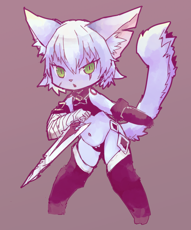 Cat Jack the Ripper (from Mothers' Ears Craft Essence) [Fate/Grand Order] Minecraft Skin