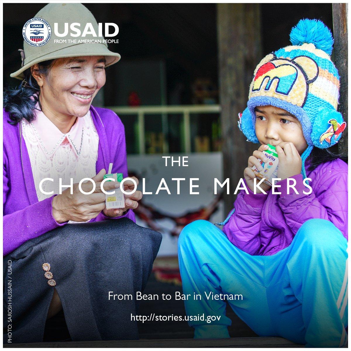 🎥 Meet 'The Chocolate Makers' https://t.co/WF2YJnVuB5 #DevJourney #SelfReliance #USAIDTransforms @USAIDVietnam