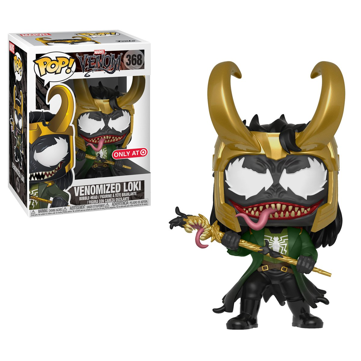 RT & follow @OriginalFunko for the chance to win a @Target exclusive Venomized Loki Pop!