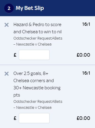 Two 16/1 RABs for you ahead of #NEWCHE...  Either take your fancy? Back them here > https://t.co/cau9OzMuf0 https://t.co/TSwlavxz6t