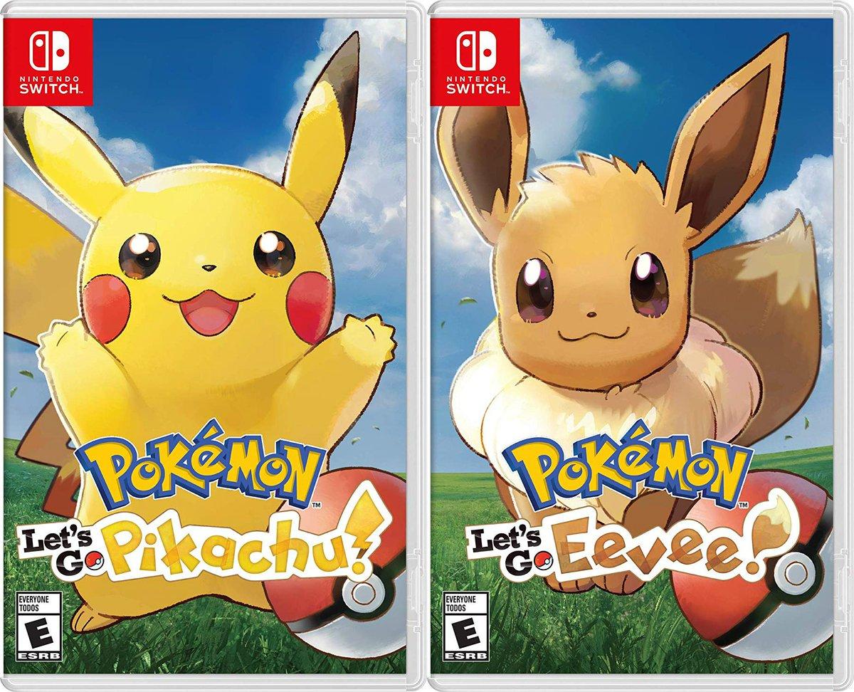 Wario64 On Twitter Pokemon Let S Go Pikachu Eevee Is 47 99 On