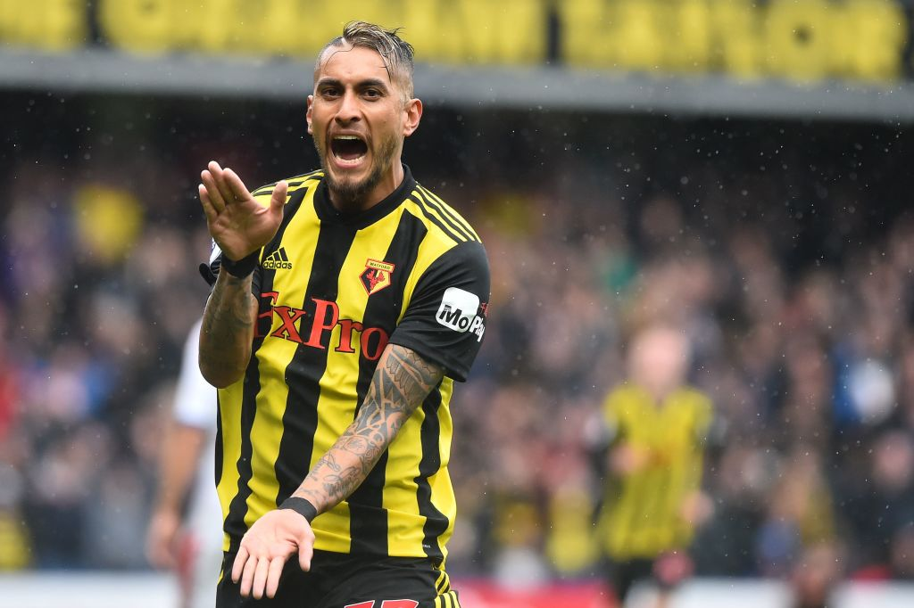 Image result for roberto pereyra celebration