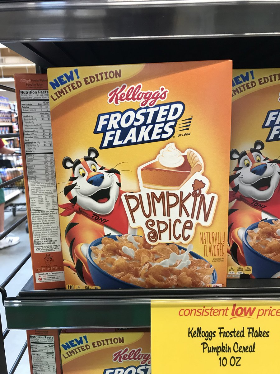 (Alt) People: it drives me up the wall to see Halloween candy in stores in August  Tony the Tiger: hold my beer https://t.co/tdmbp8z62O