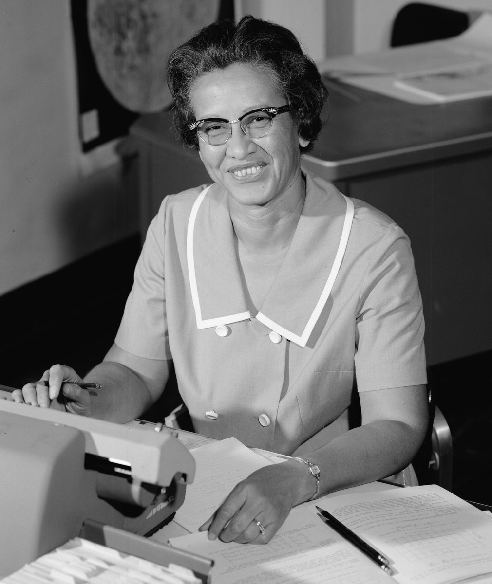 Join us in wishing a happy 100th birthday to Katherine Johnson! 'Hidden figure' no more, we celebrate her legacy and all the 'modern figures' working across @NASA today. https://t.co/QLpZ1ROOV3  #Happy100Katherine