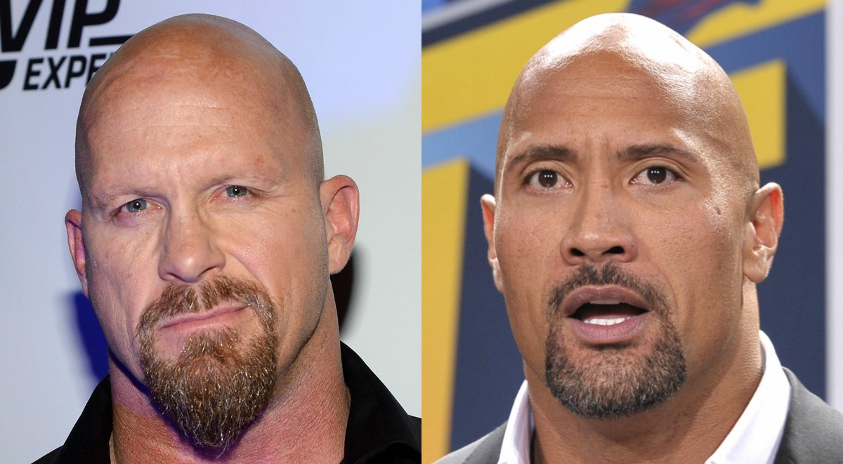 Which WWE Superstar are you taking? RT - Stone Cold Steve Austin ❤️ - The Rock