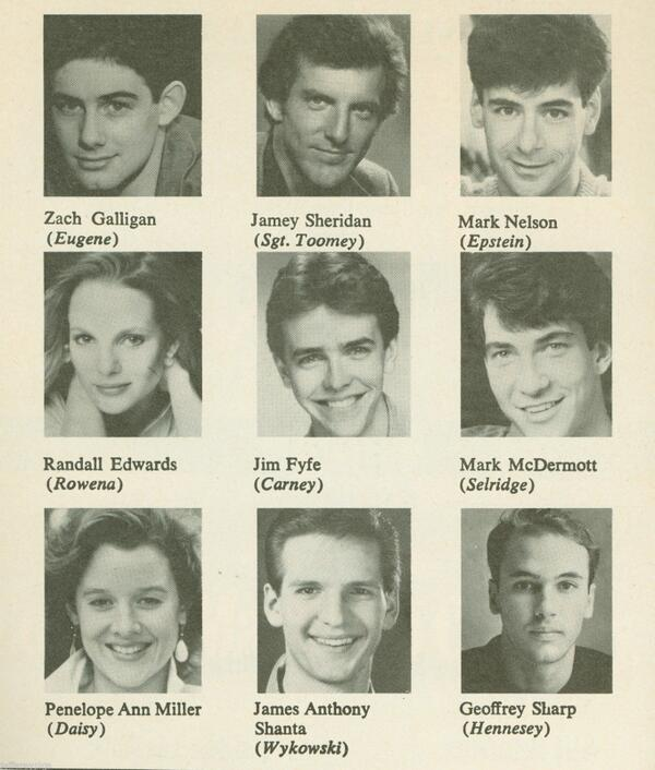 Zach Galligan On Twitter In 1986 Neil Simon Cast Me As Eugene
