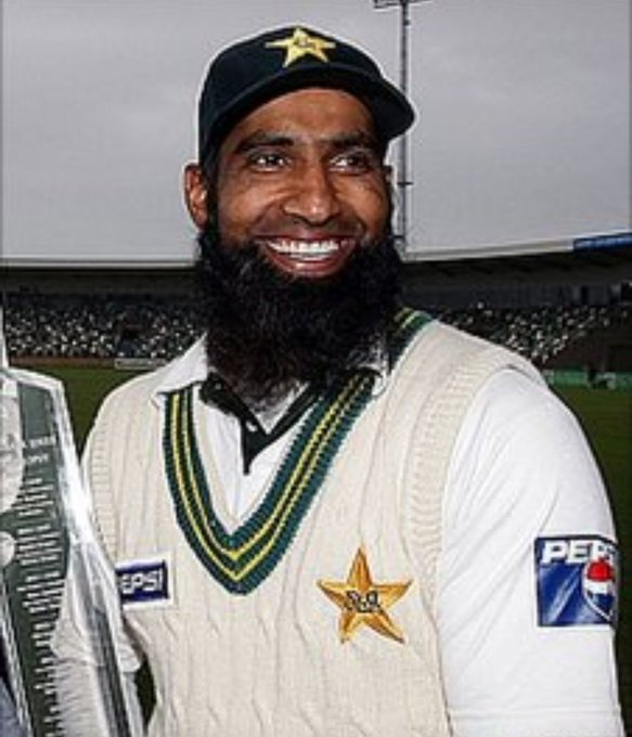 17300 Intl Runs 39 Intl Centuries Best Test Rating for a Pakistani Batsman  Happy 44th Birthday to Mohammad Yousuf.