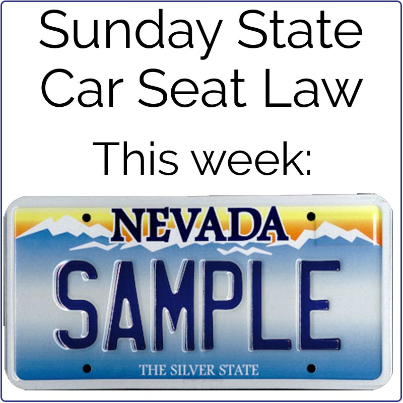 Secured In A Child Restraint System Which Has Been Federally Finish Reading On Our Website At Saferide4kids Car Seat Laws By State Nevada