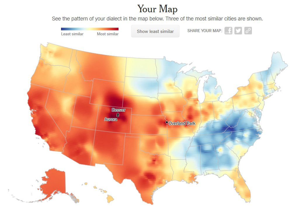 Map Of Texas Quiz.Kyle Walker On Twitter The Nytimes Dialect Quiz Https T Co