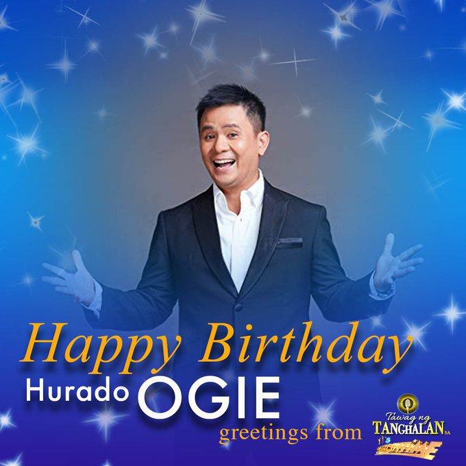 Happy Birthday Hurado Ogie Alcasid!