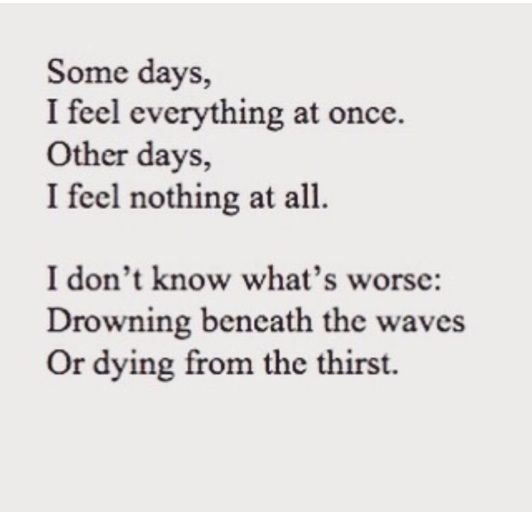 Life Quotes On Twitter What Is Depression Like Its Like Drowning
