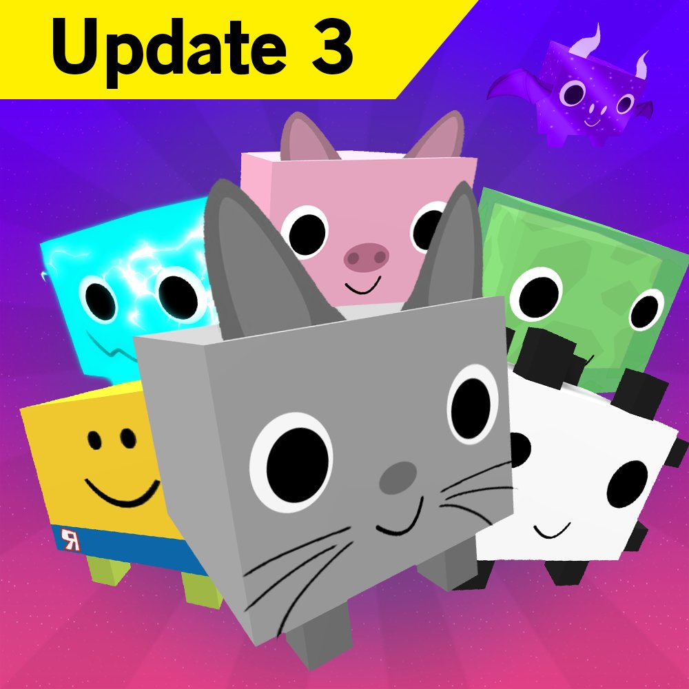 Big Games On Twitter Pet Simulator Moon Update Is Out