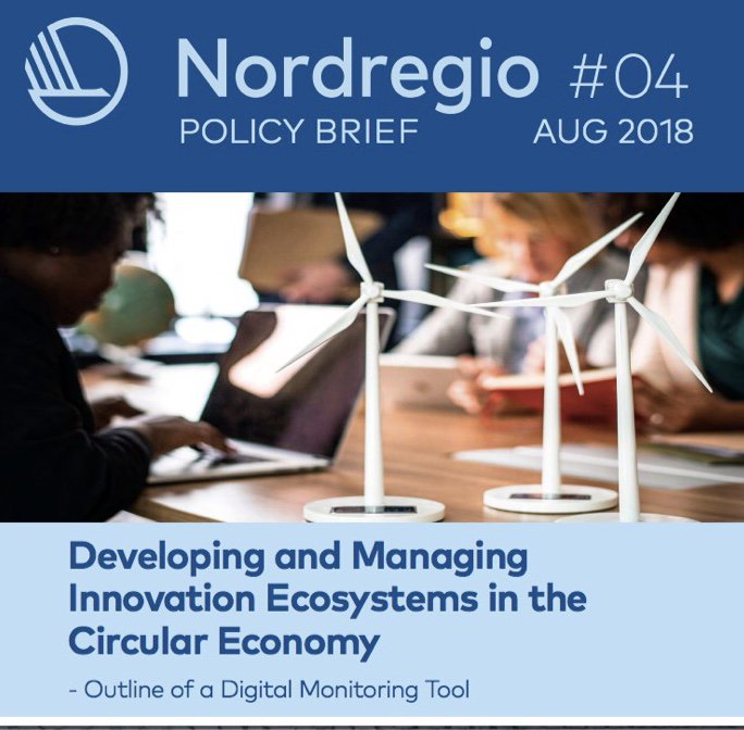 #Innovation ecosystems are vitally important for facilitating sustainable regional economic growth, particularly within #circulareconomy. Read @bsrstars S3 policy brief on a new digital monitoring tool, which compiles data on ongoing circular economy initiatives. #Interreg #BSR