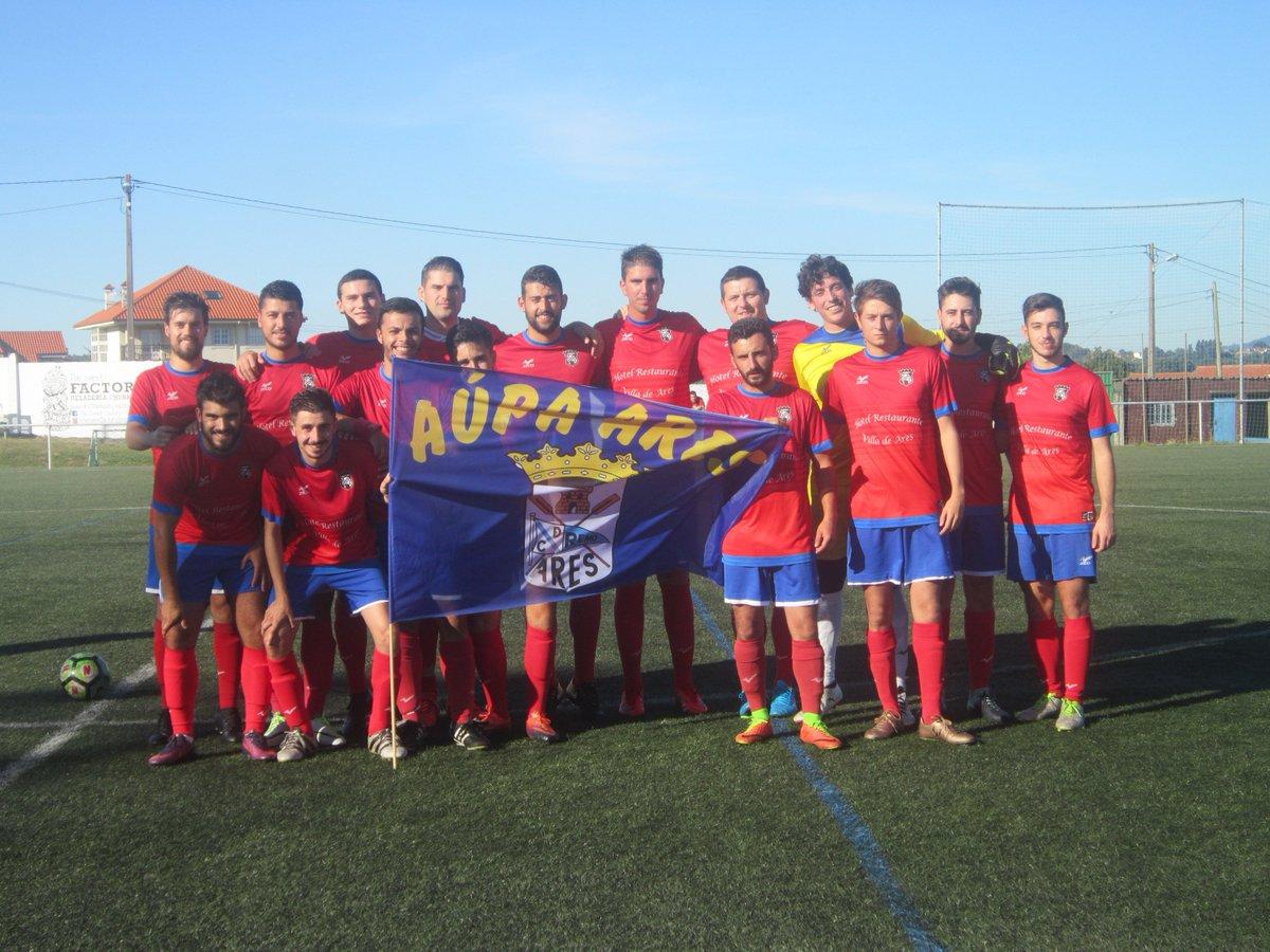 ADR Numancia de Ares. Aficionados 2018-2019. Numancia - Orillamar. Bandera Club Remo Ares.