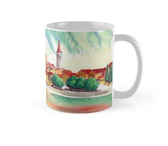 Http Goo Gl T2rmvn Choose From Tall Clic Travel Styles All Decorated With Designs Watercolours Mugs Cups Coffee Tea Kitchen Decor